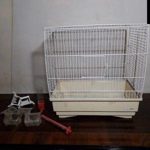 Λευκό Κλουβί για Πουλιά