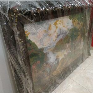 Μεγάλος πίνακας με κεντιμα