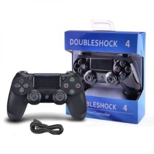 Ενσύρματο Χειριστήριο Doubleshock 4 για PS4 Μαύρο