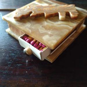 Κουτί για Σπίρτα από Όνυχα, Αναμνηστικό Κρήτης