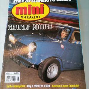 παλιο περιοδικο mini cooper magazine may 2000