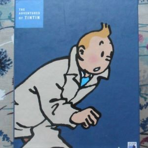 Adventures of Tin Tin 10 x DVDs BOX SET 75th Anniversary