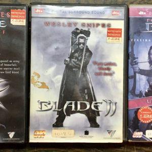 DvD - Blade (trilogia )( Δωρεάν Μεταφορικά )