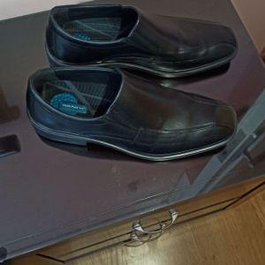 Παπούτσια ανδρικά δερμάτινα νούμερο 45