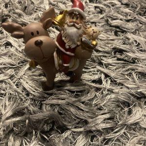 ολοκαίνουργιο πήλινο  χριστουγεννιάτικο διακοσμητικό Άγιος Βασίλης