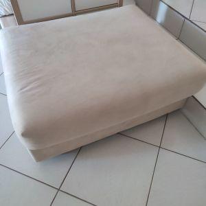 Σκαμπό καναπέ χωρίς πλάτη με αποσπώμενο αλεκιαστο ύφασμα