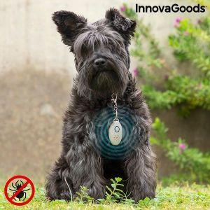 Επαναφορτιζόμενη Συσκευή Υπερήχων Κατά των Παρασίτων για τα Κατοικίδια Ζώα PetRep InnovaGoods