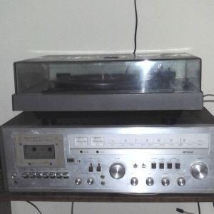 Ραδιοκασετοφωνο με πικαπ Rising