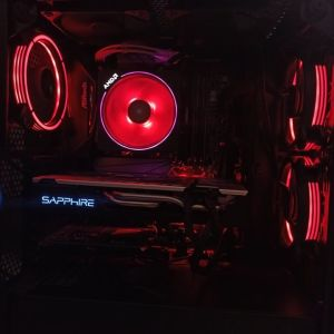 Gaming PC-Workstation and more Ryzen 7 2700x -16GB-500GB