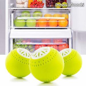 Οικολογικές Μπάλες για το Ψυγείο InnovaGoods (πακέτο με 3)