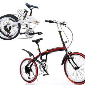 Το Αεροδυναμικό Έξυπνο Σπαστό Ποδήλατο – 20″ , 6 ταχύτητες