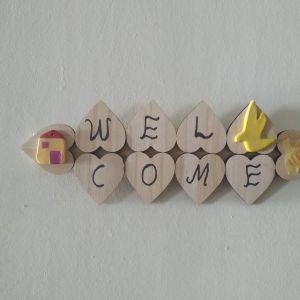 Διακοσμητικό τοίχου Welcome