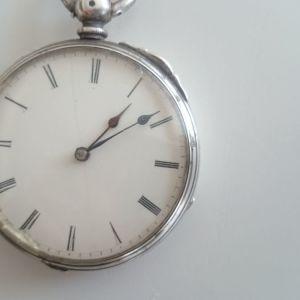 Παλιό ρολόϊ τσέπης κουρδιστο με κλειδί