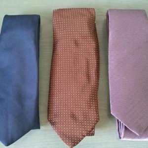 γραβάτες επώνυμες διαφόρων οίκων ( 12 τεμάχια )