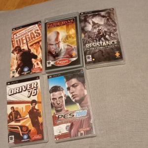 PSP Games(5)