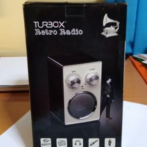 turbo-x ρετρό ραδιόφωνο