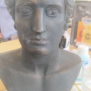 προτομή του Μεγάλου Αλεξάνδρου 30cm  του γλύπτη Γ.Γογγακη