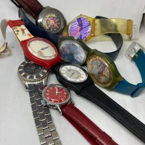 8 ρολόγια χειρός, η τιμή αφορά και τα 8 μαζί