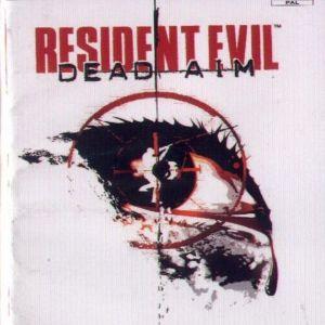 RESIDENT EVIL DEAD AIM - PS2