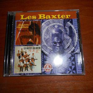 CD  LES  BAXTER  -  THE  PRIMITIVE PASSIONATE &  LES  BAXTER  BALLADEERS