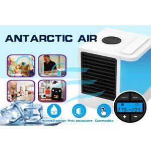 Φορητό Air Cooler Mini δροσίζει με τεχνολογία εξάτμισης - Υδρονέφωσης + Υγραντήρας