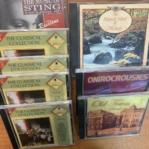 CD Κλασικη μουσικη 8 τεμαχια