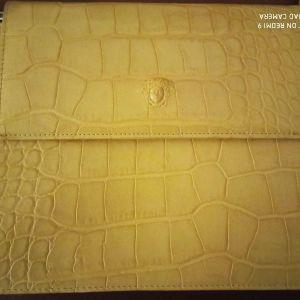 Τσάντα δερμάτινη Versace