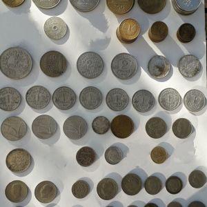 Συλλογή παλαιών νομισμάτων - Ελληνικών & ξένων