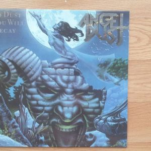 Angel Dust -  To Dust You Will Decay LP