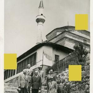 Συλλεκτική Καρτ Ποστάλ Ιωαννίνων δεκ. 1950 με το Ασλάν Τζαμί του φρουρίου Ioannina Janina Postcard Epirus Ήπειρος Aslan Pasha Ιωάννινα Γιάννενα Γιάννινα αντίκα σπάνια συλλεκτικά ρετρό διακόσμηση