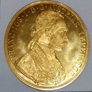 Νόμισμα Αυστρίας 4 Δουκάτα 1915
