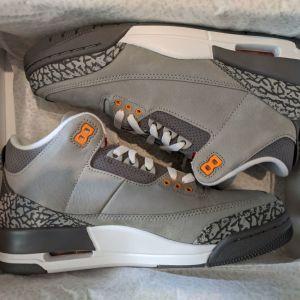 Jordan Retro iii Cool Grey 42