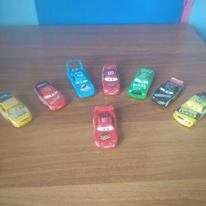 αυτοκινητάκια από την ταινία cars