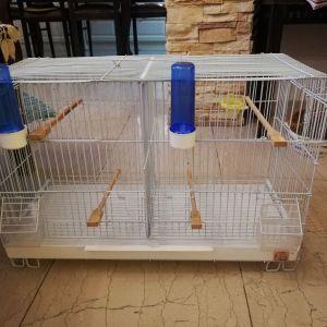 Κλουβί για πουλιά δύο χώρων