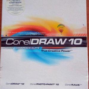 coreldraw 10 graphics suite + Cumulus 5