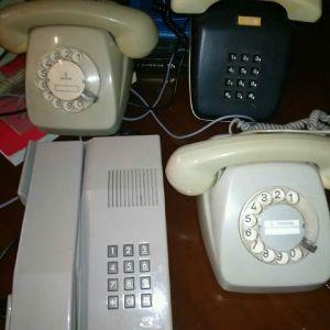 Παλιά τηλέφωνα vintage λειτουργικά