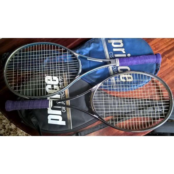 [ 2 ] PRINCE GRAPHTECH DB 90  +  CTS GRADUATE 90 raketes tenis