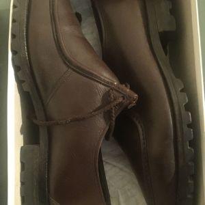 Δερμάτινα αντρικά παπούτσια Νο.43.5 αφορετα