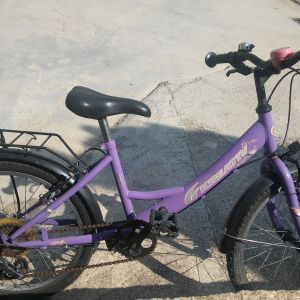 """Παιδικό ποδήλατο, 20"""", max υψος σέλας περίπου 75 ελατοστά."""