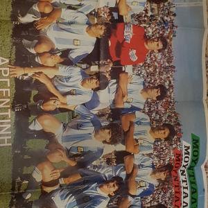 Αφίσσες Βραζιλία-Αργεντινή-Δυτ.Γερμανία Μουντιάλ 1990