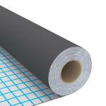 vidaXL Μεμβράνη Αυτοκόλλητη για Έπιπλα Γκρι 500 x 90 εκ. από PVC- 146125