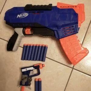2 όπλα Nerf (Πωλούνται ξεχωριστά ή μαζί σύμφωνα με την περιγραφή)