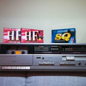 TECHNICS RS-D450 CASSETTE DECK (vintage '80s)