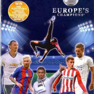 ΑΓΓΕΛΙΑ ΑΛΜΠΟΥΜ EUROPE CHAMPIONS 2016-2017