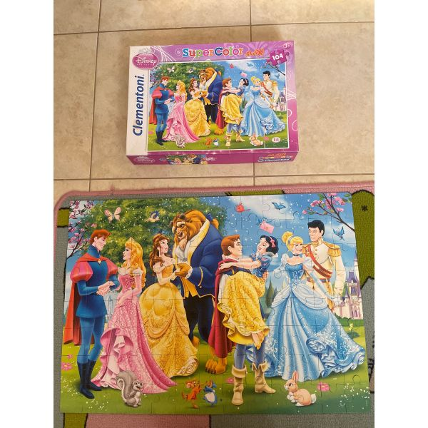 puzzle prigkipisses 104 clémentoni