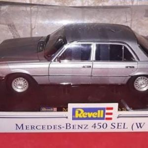 *RARE* MERCEDES BENZ 450 SEL (W11) / REVELL / 1:18 - Astral Silver / DIECAST