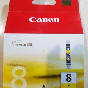 Μελάνι  Canon CLI-8Y Yellow 0623B001