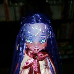 OOAK custom repaint: Equestria Girls Alien, Space, Constellation Art Doll - Εξωγήινη, Διαστημική Κούκλα Τέχνης με Αστερισμούς