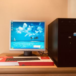 Pc / Υπολογιστής / Desktop Hp / computer /  Windows 7