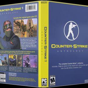 PC GAME COUNTER STRIKE 1 ANTHOLOGY - PC